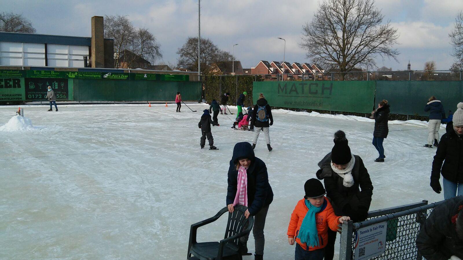 schaatsbaan open