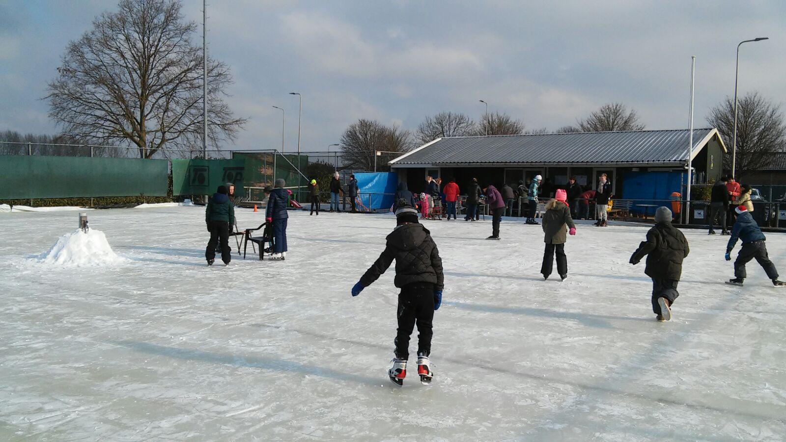 Toch nog schaatsen in 2018!!!